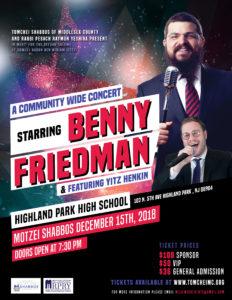 Benny Friedman Concert